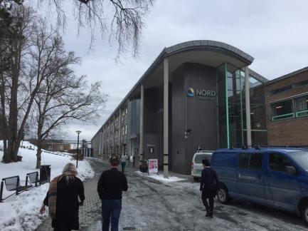 Møte var på Levangers Nord Universitet